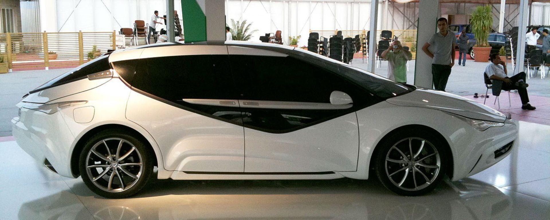 Tesco TS Rockets, l'auto disegnata da Gheddafi