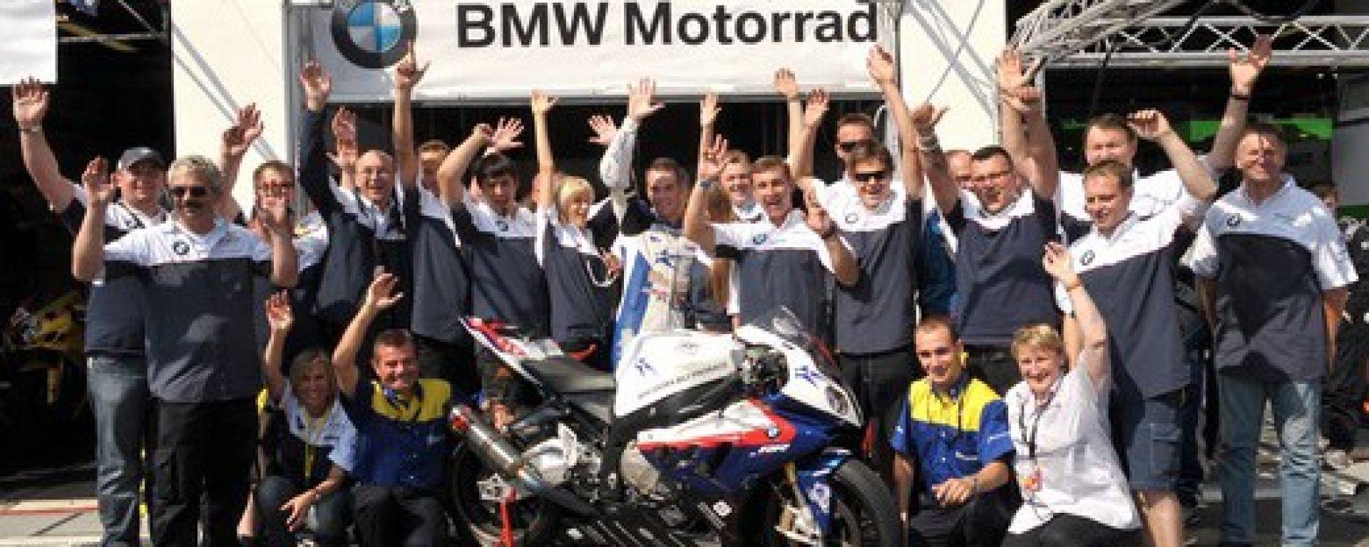 BMW: la S 1000 RR quarta al Bol d'Or
