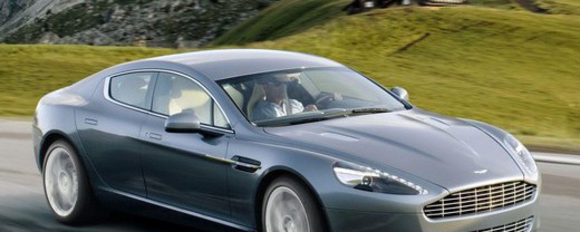 Aston Martin Rapide: 44 nuove foto