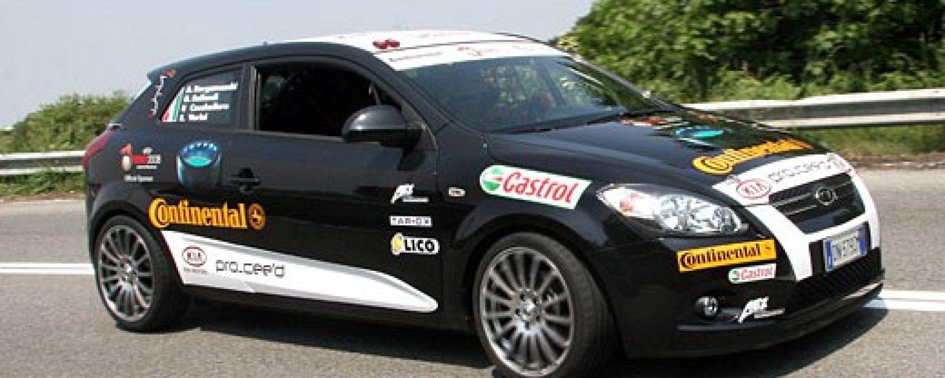 KIA: la pro_cee'd sfida il Nuerburgring
