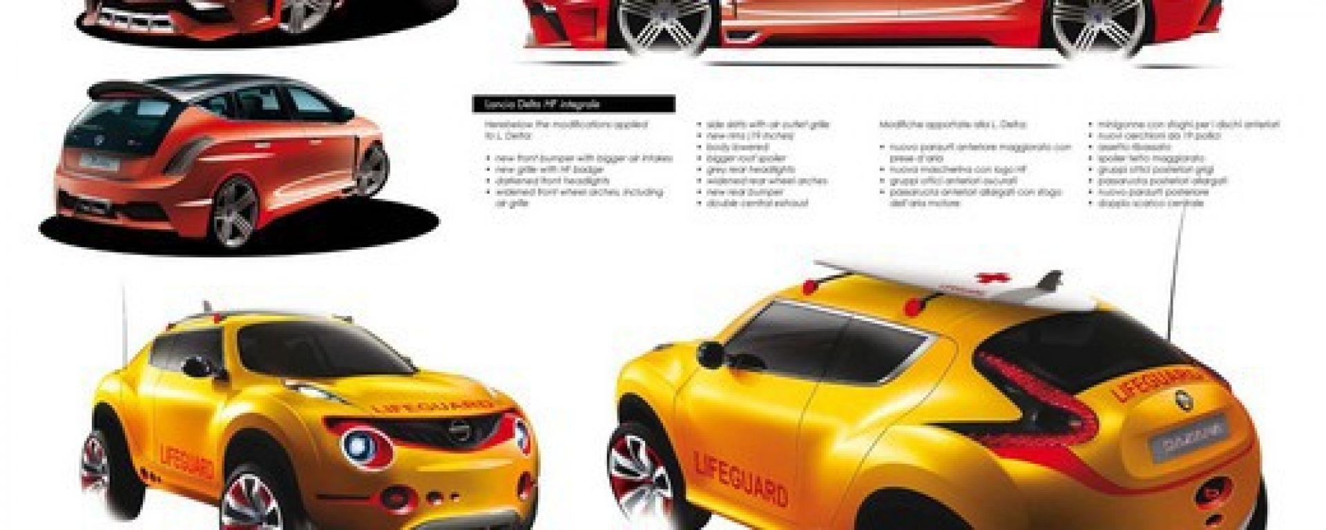Le auto di oggi viste dai designer di domani