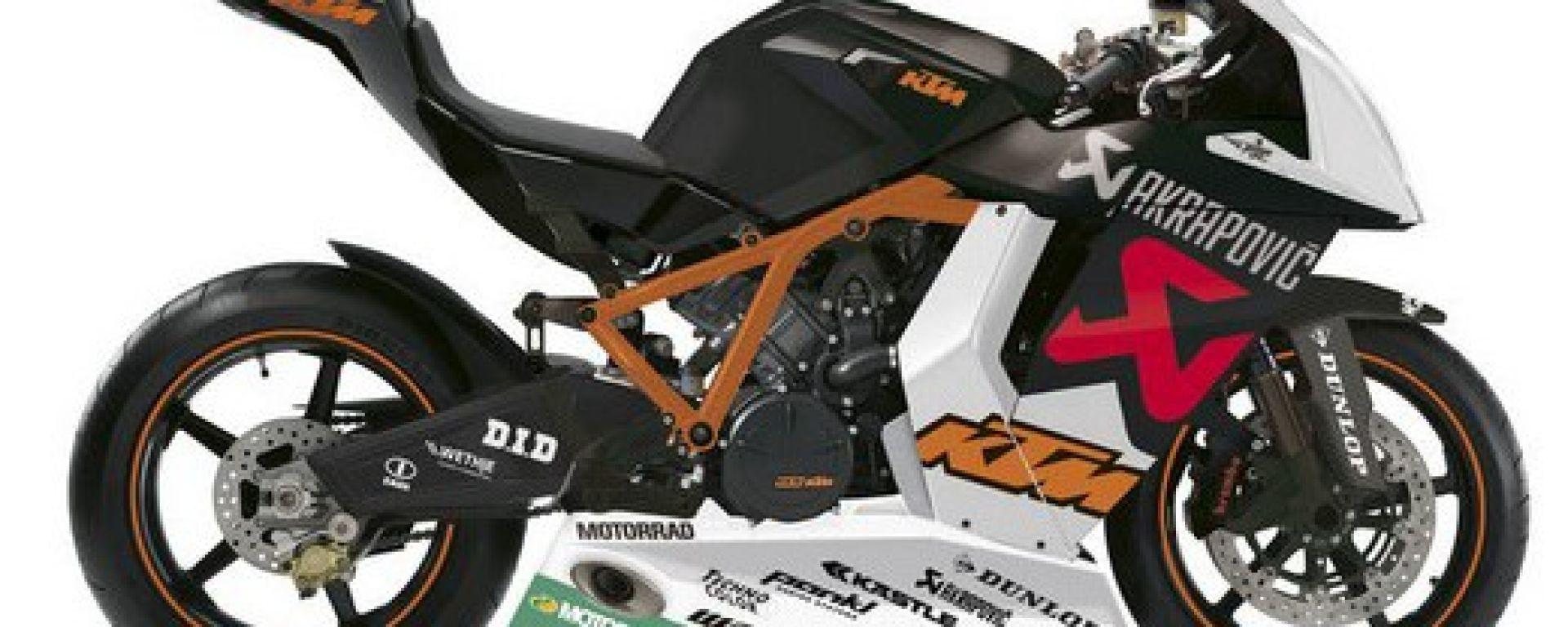 KTM: nuovo listino