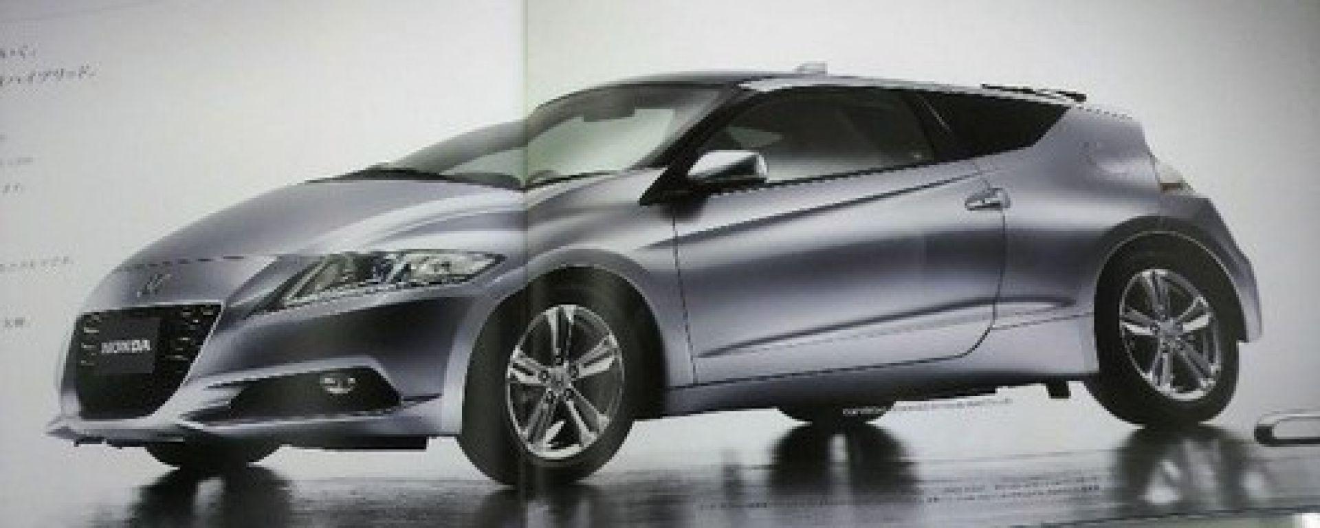 Honda CR-Z, le foto ufficiali