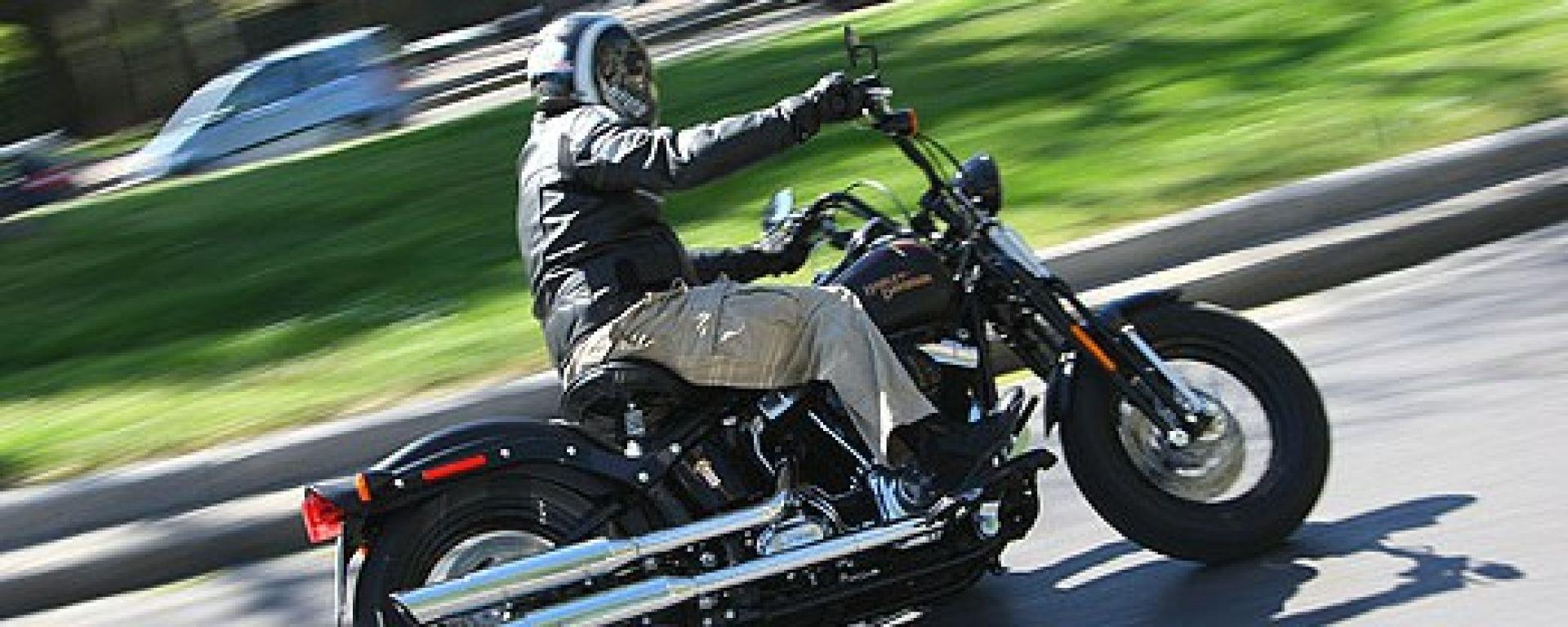 Harley-Davidson FLSTSB Softail Cross Bones Dark