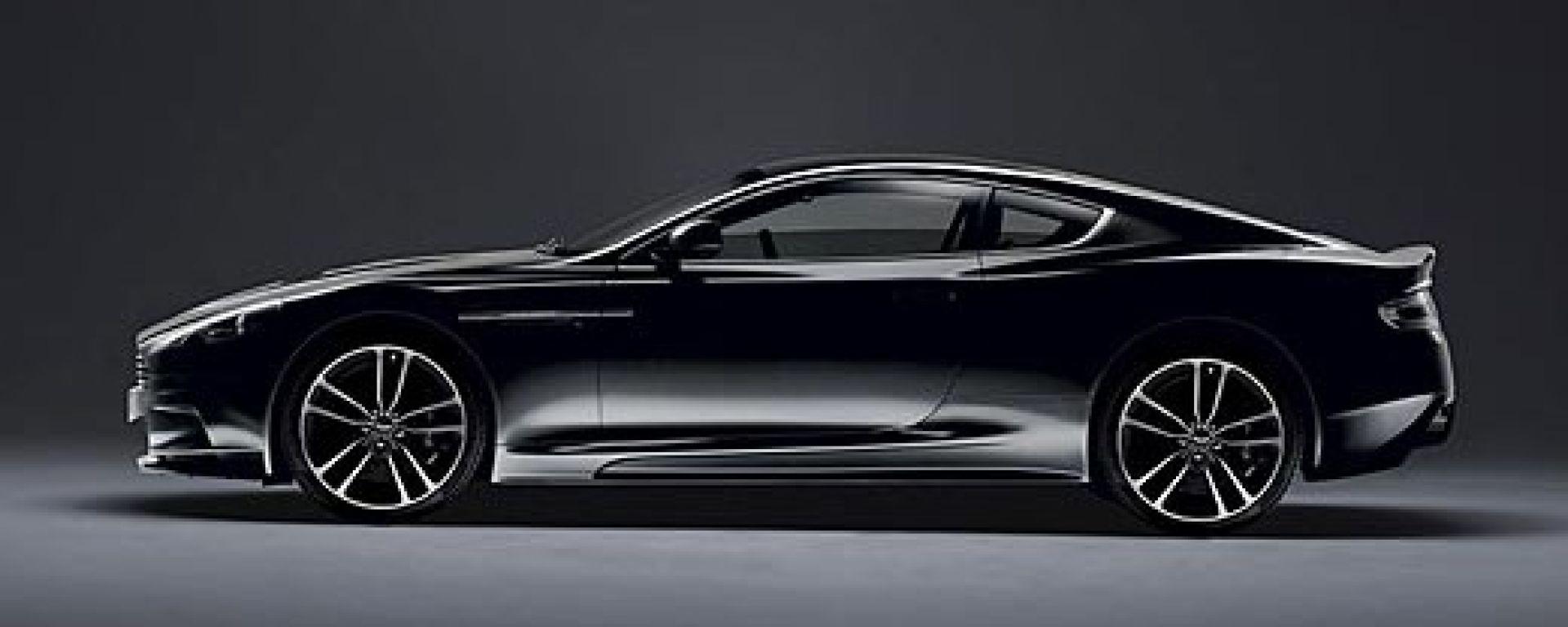 Aston Martin DBS e V12 Vantage Carbon Black