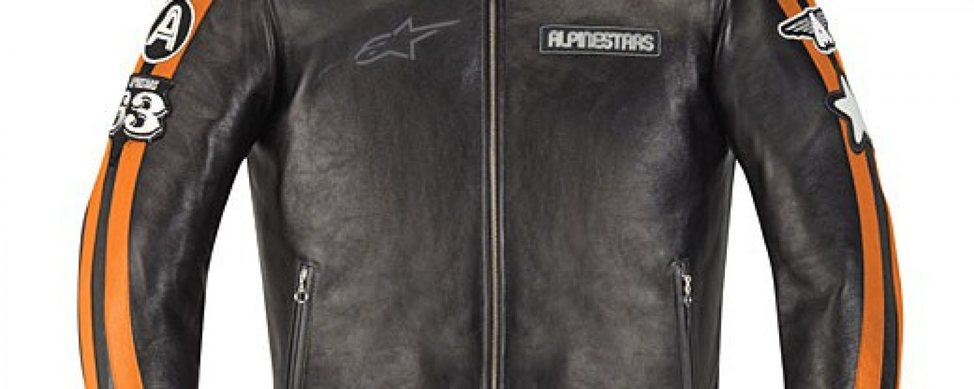 Alpinestars Velocity e Giorgia leather jacket