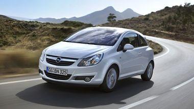 Listino prezzi Opel Corsa