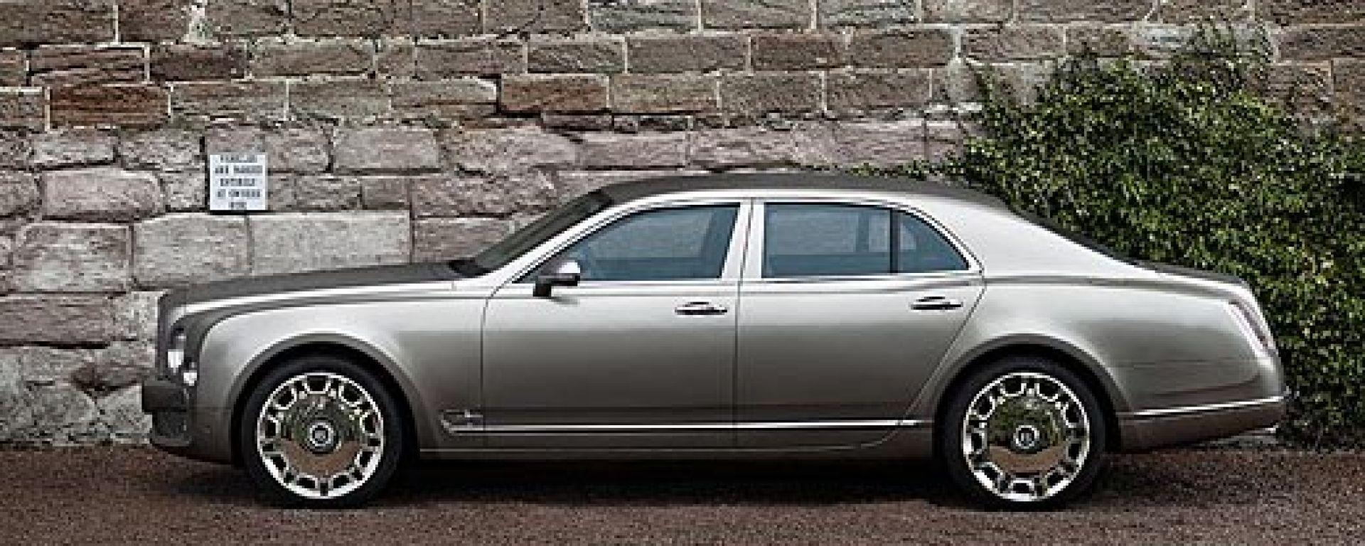 Bentley Mulsanne: abitacolo a cinque stelle