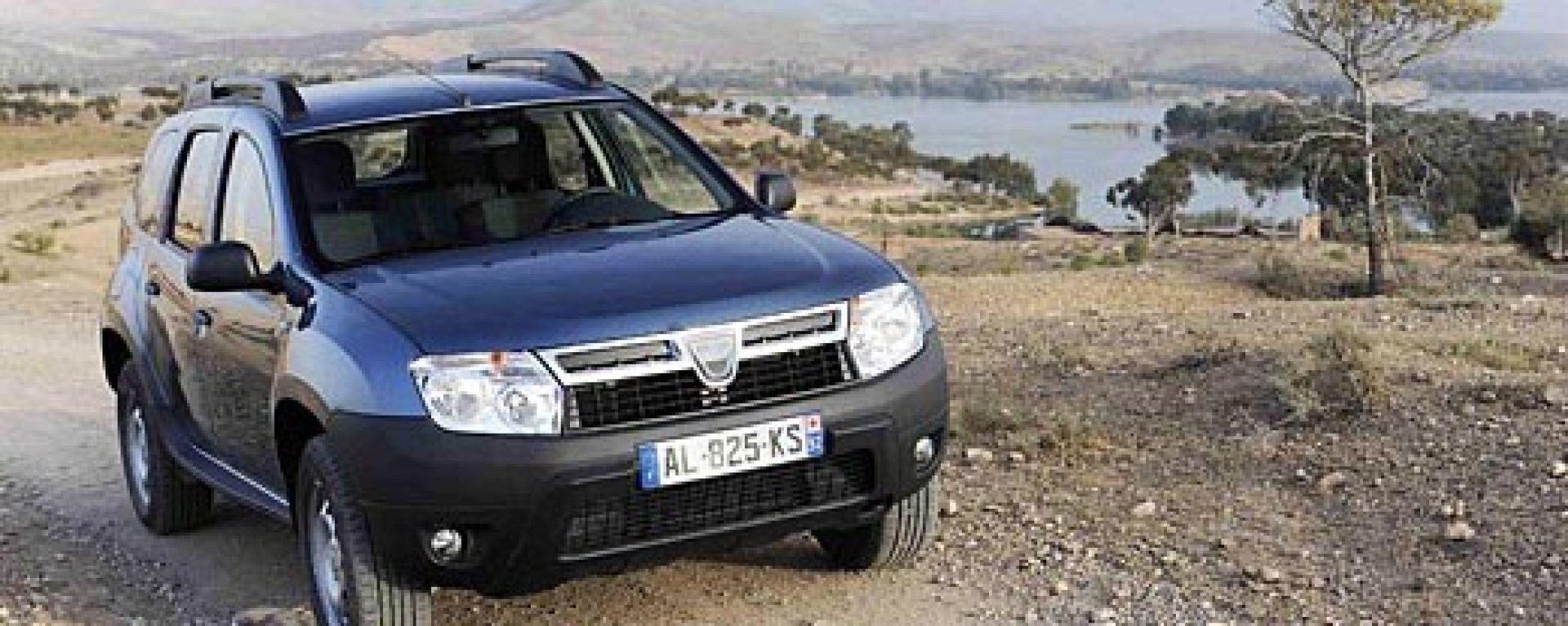 10 FAQ sulla Dacia Duster