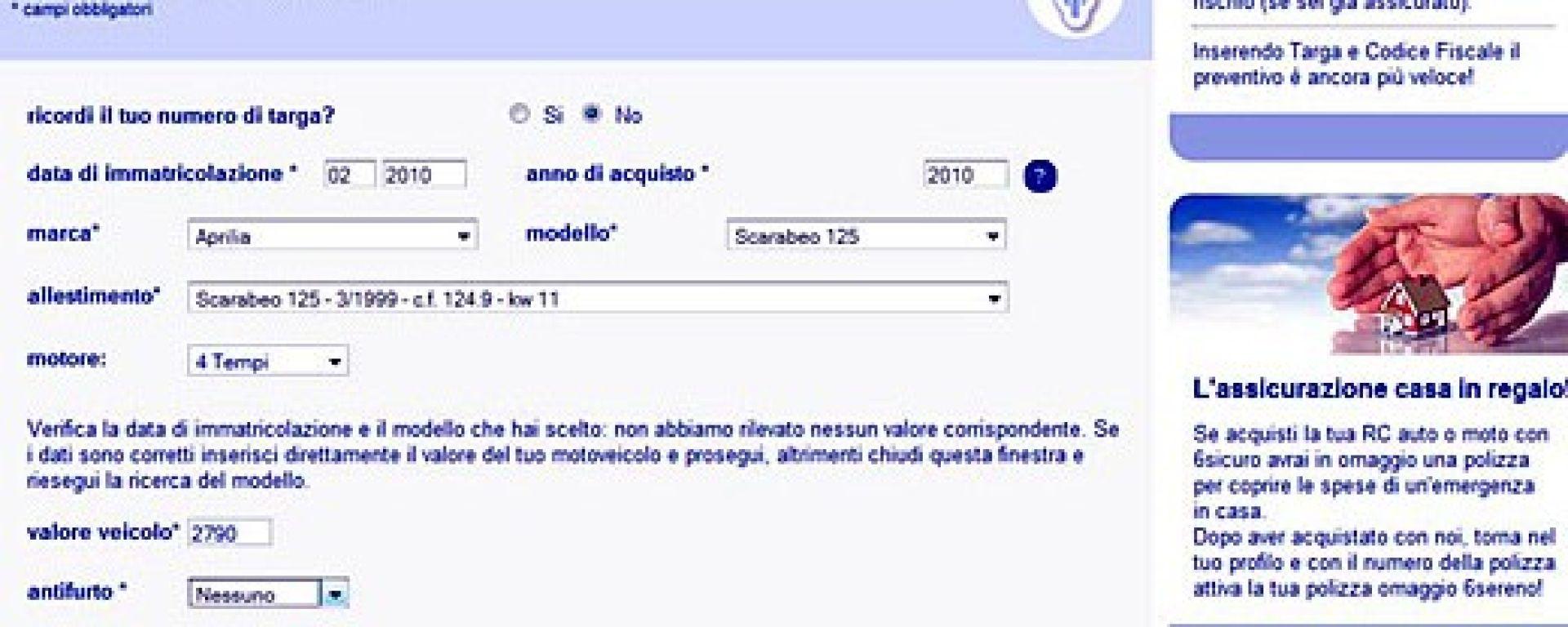 Caro assicurazioni: il rifugio è online