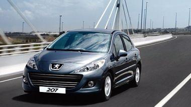 Listino prezzi Peugeot 207