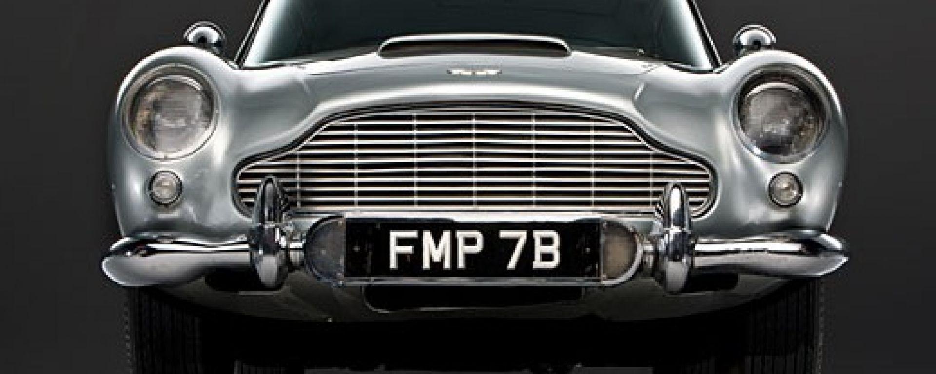 L'Aston Martin DB5 di 007 come non l'avete mai vista