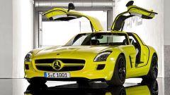 La Mercedes SLS AMG E-Cell in 67 nuovi scatti... - Immagine: 2