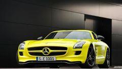 La Mercedes SLS AMG E-Cell in 67 nuovi scatti... - Immagine: 5