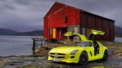La Mercedes SLS AMG E-Cell in 67 nuovi scatti... - Immagine: 17