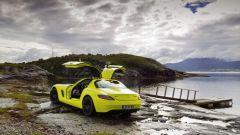 La Mercedes SLS AMG E-Cell in 67 nuovi scatti... - Immagine: 19