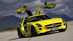 La Mercedes SLS AMG E-Cell in 67 nuovi scatti... - Immagine: 22