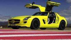 La Mercedes SLS AMG E-Cell in 67 nuovi scatti... - Immagine: 27