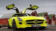 La Mercedes SLS AMG E-Cell in 67 nuovi scatti... - Immagine: 29