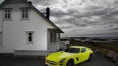La Mercedes SLS AMG E-Cell in 67 nuovi scatti... - Immagine: 31