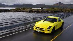 La Mercedes SLS AMG E-Cell in 67 nuovi scatti... - Immagine: 34