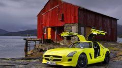 La Mercedes SLS AMG E-Cell in 67 nuovi scatti... - Immagine: 60