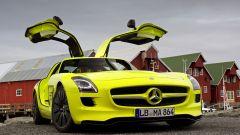La Mercedes SLS AMG E-Cell in 67 nuovi scatti... - Immagine: 63
