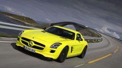 La Mercedes SLS AMG E-Cell in 67 nuovi scatti... - Immagine: 66
