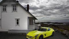 La Mercedes SLS AMG E-Cell in 67 nuovi scatti... - Immagine: 67