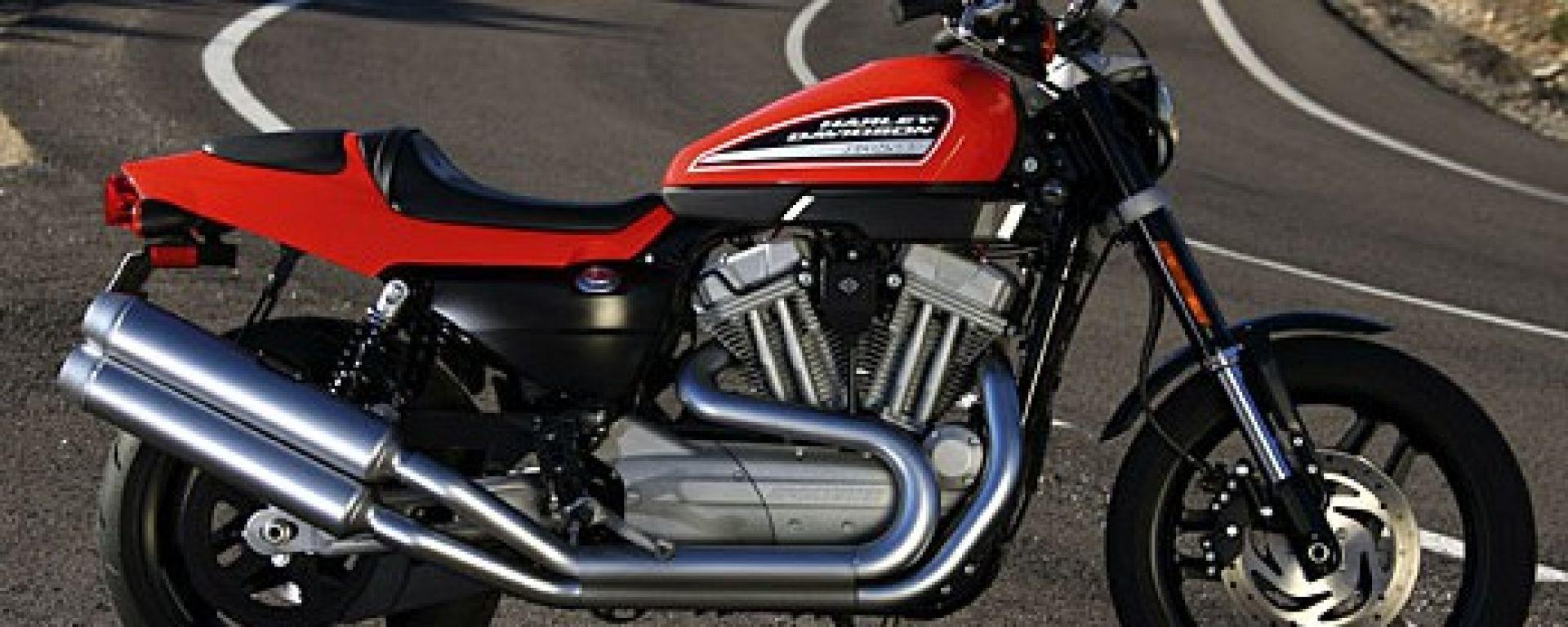 Prova Harley Davidson Xr 1200 Motorbox