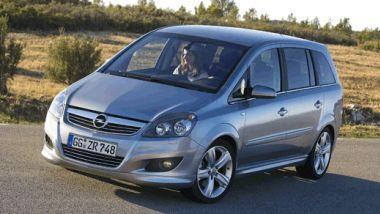 Listino prezzi Opel Zafira