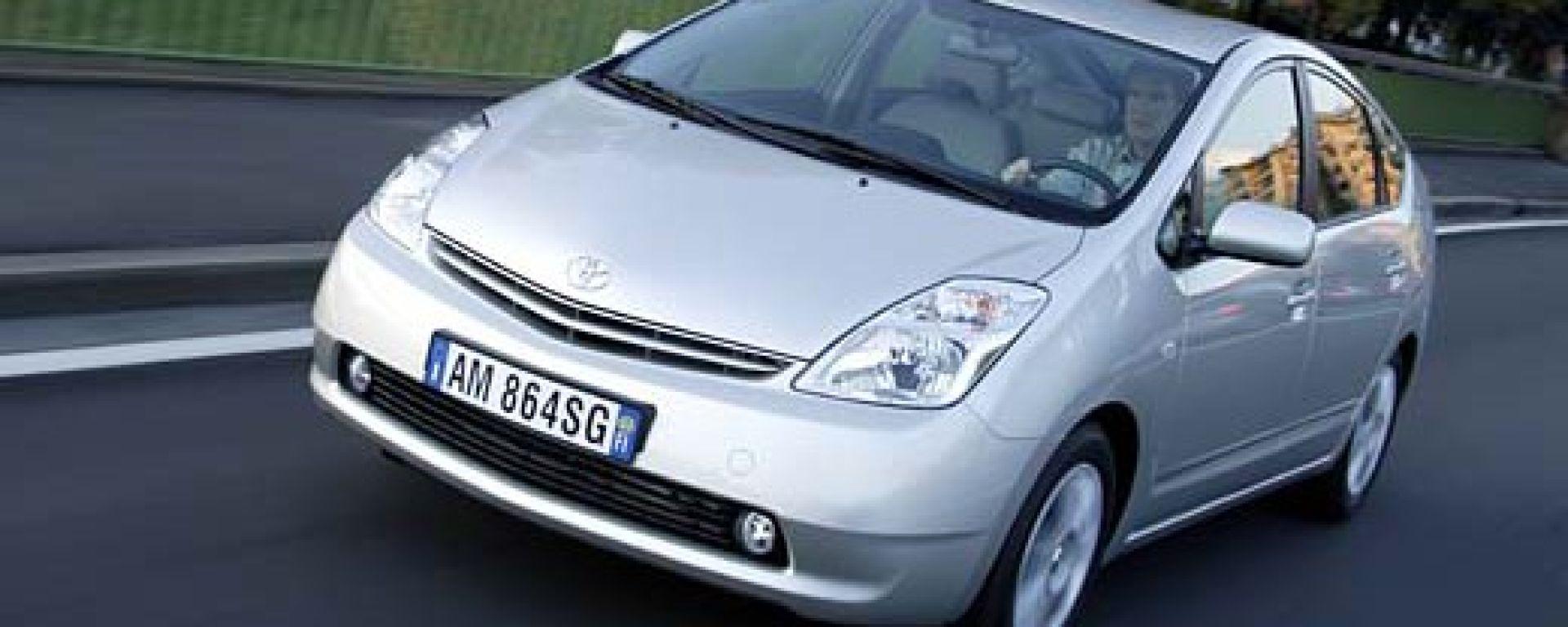 Prius, il taxi verde