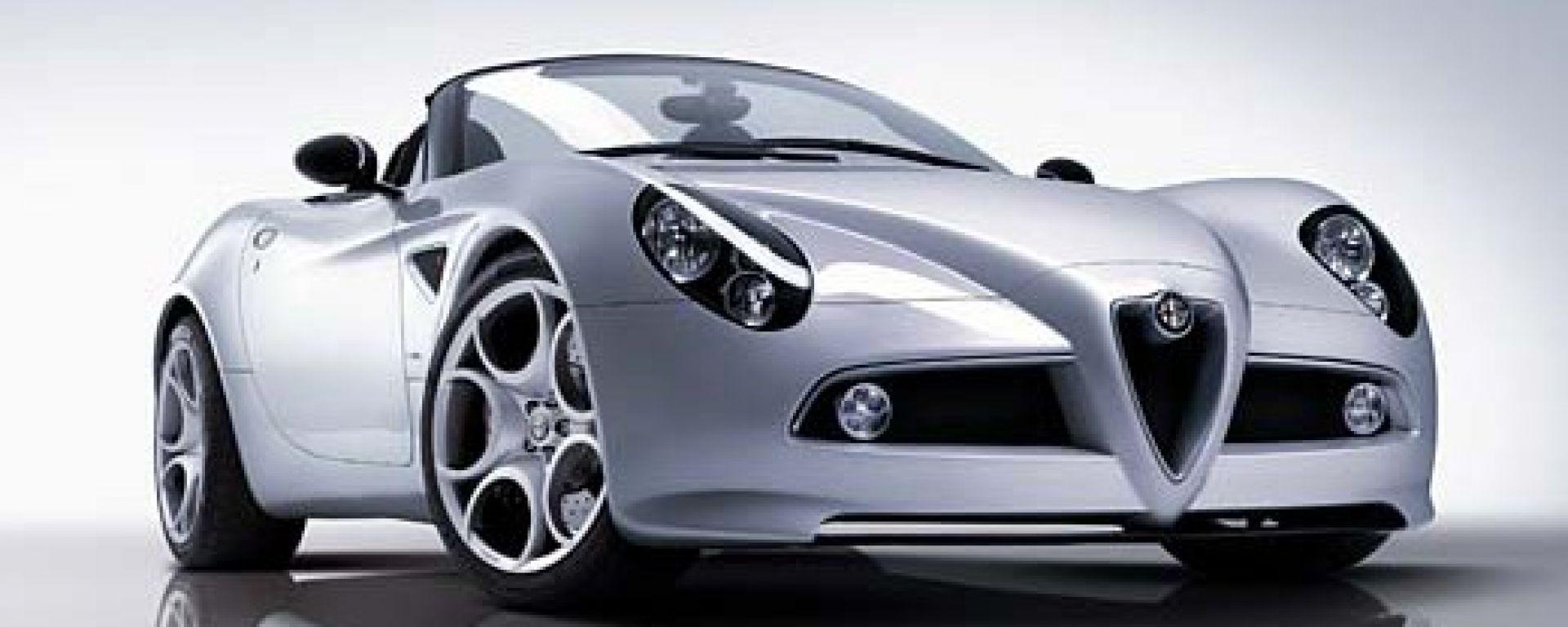 Alfa Romeo 8C Spider