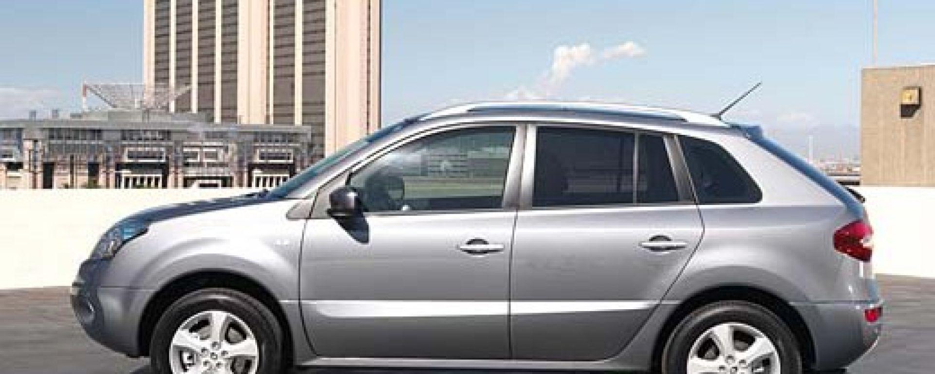 La Renault Koleos in dettaglio