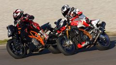 Aprilia Tuono 1100 Factory vs KTM 1290 Super Duke R - Immagine: 37