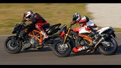 Aprilia Tuono 1100 Factory vs KTM 1290 Super Duke R - Immagine: 39