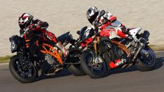 Aprilia Tuono Factory vs KTM Super Duke R - Immagine: 5