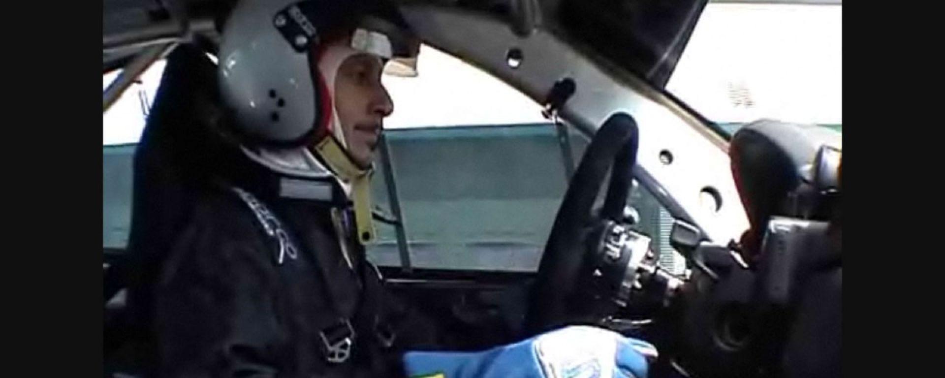 Luca Bizzarri, de Le Iene, in pista a Misano