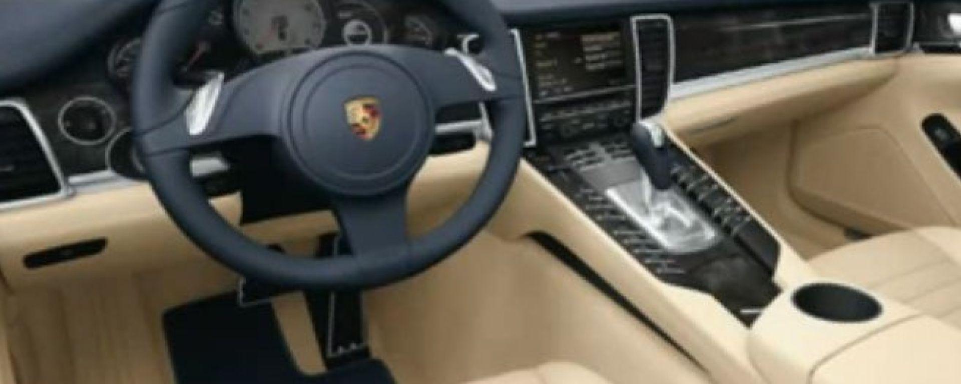 Interni della Porsche Panamera