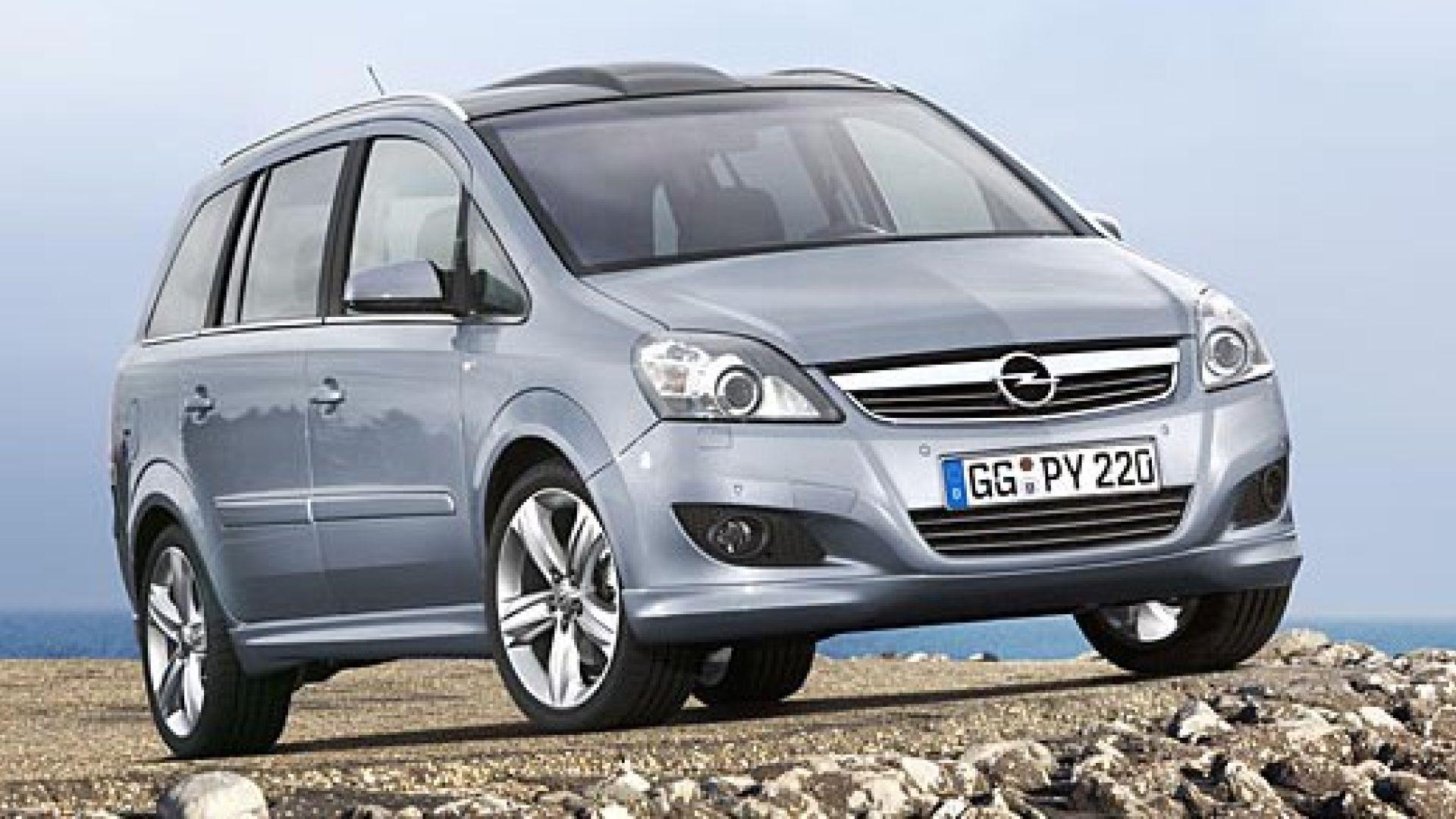Immagine 3: Opel Zafira 2008