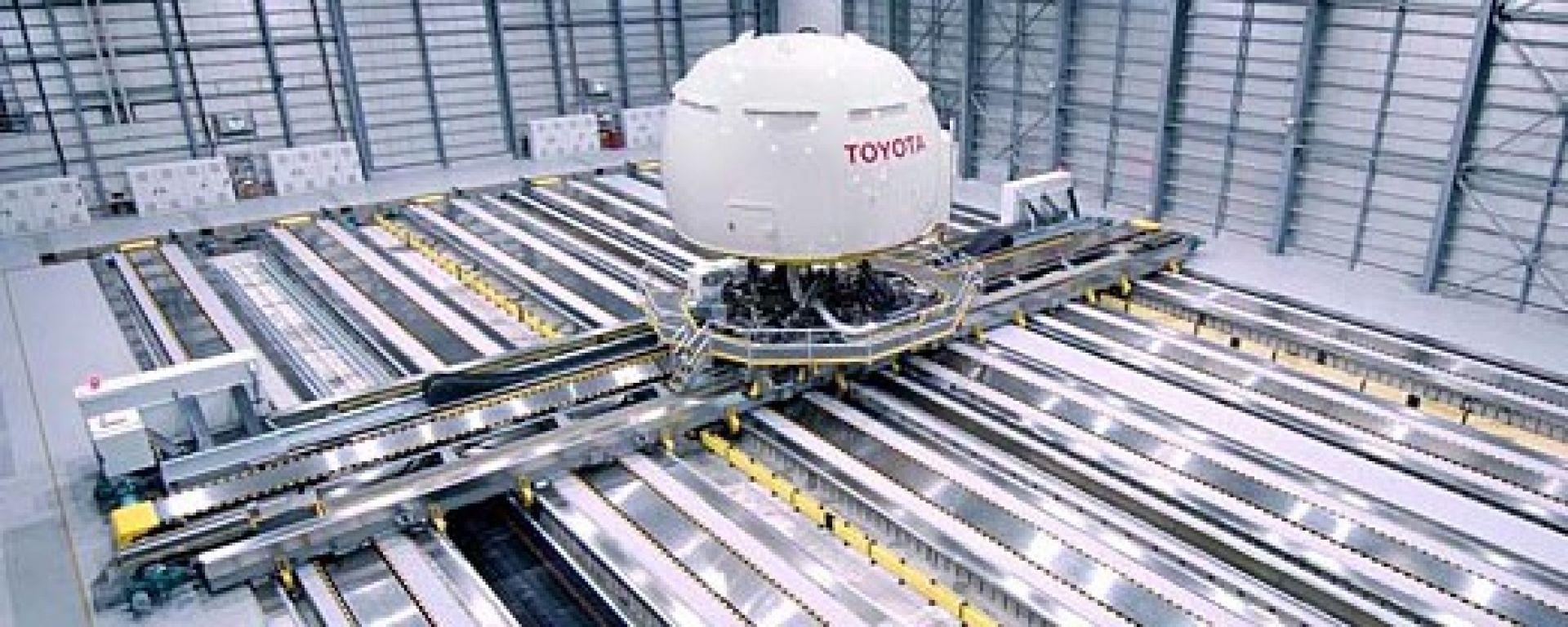 TOYOTA: prodotto un mega simulatore di guida