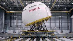 TOYOTA: prodotto un mega simulatore di guida - Immagine: 2