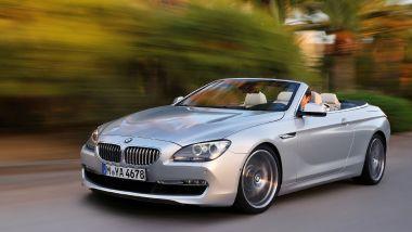 Listino prezzi BMW Serie 6 Cabrio