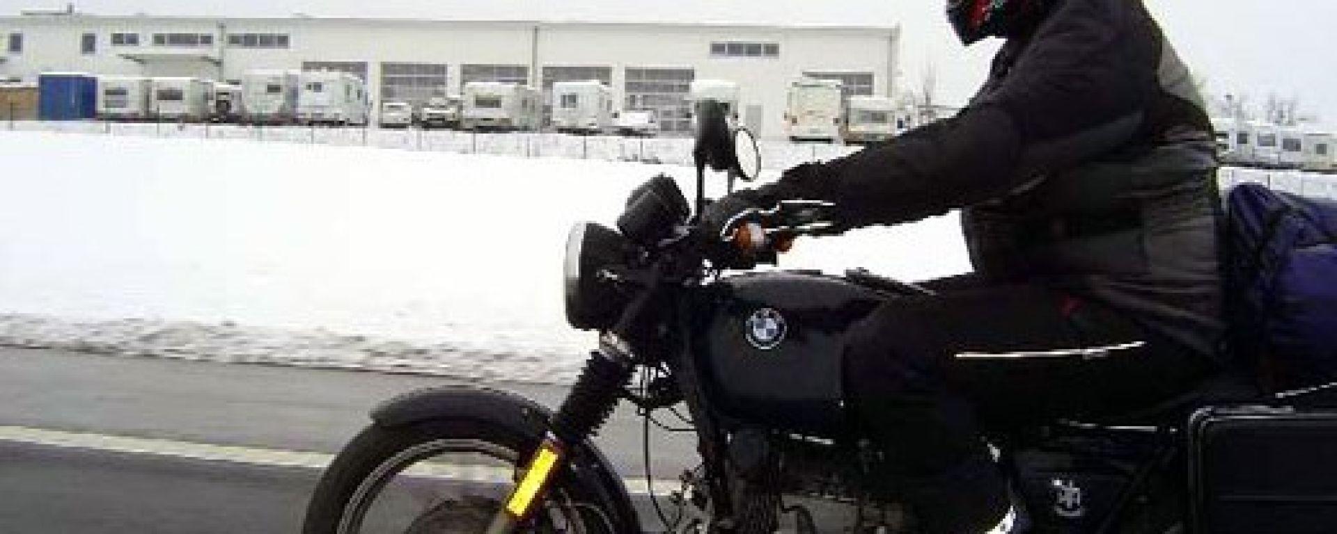 Inverno in moto: guidare al freddo