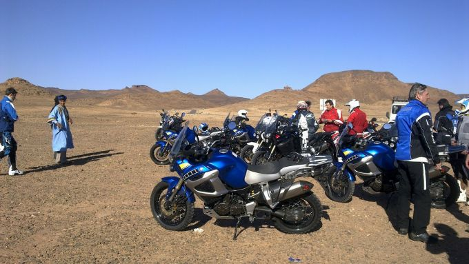 Immagine 156: In Marocco con la Yamaha Super Ténéré