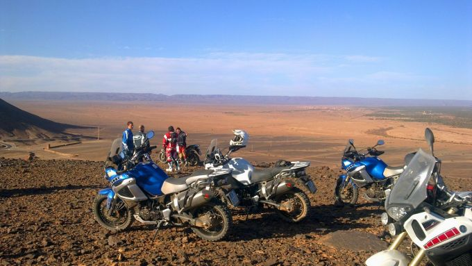 Immagine 117: In Marocco con la Yamaha Super Ténéré