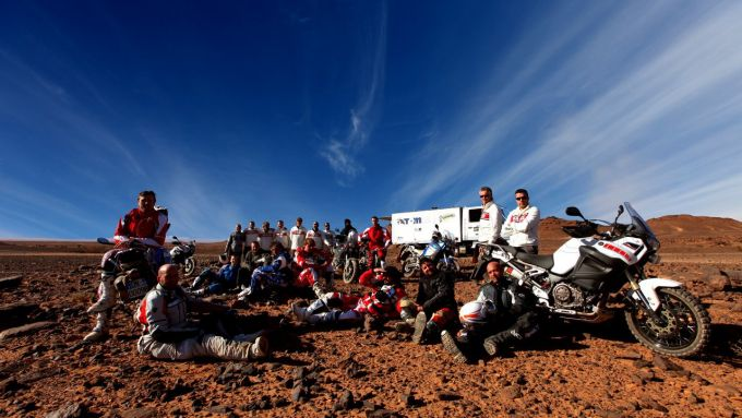 Immagine 121: In Marocco con la Yamaha Super Ténéré