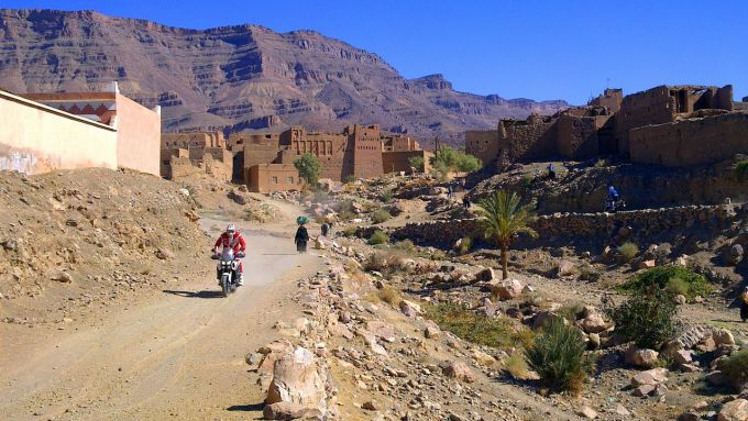 Immagine 144: In Marocco con la Yamaha Super Ténéré