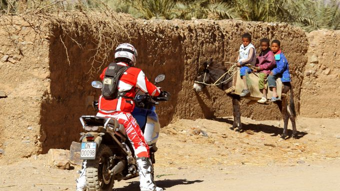 Immagine 19: In Marocco con la Yamaha Super Ténéré