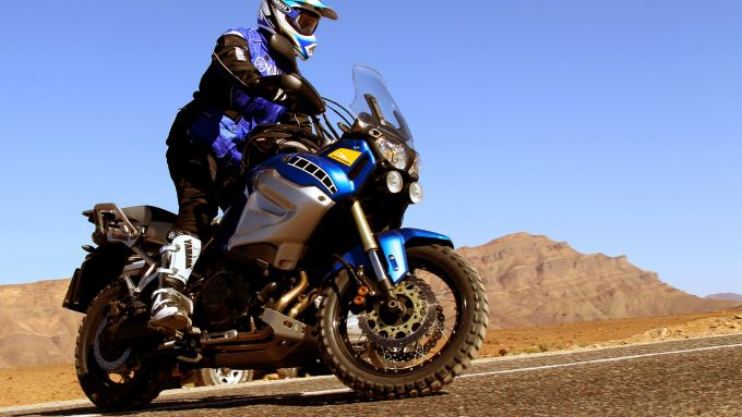 Immagine 1: In Marocco con la Yamaha Super Ténéré